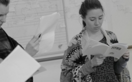 """Titus Rehearsal Blog: """"Fight!"""" by Ariane Barnes"""