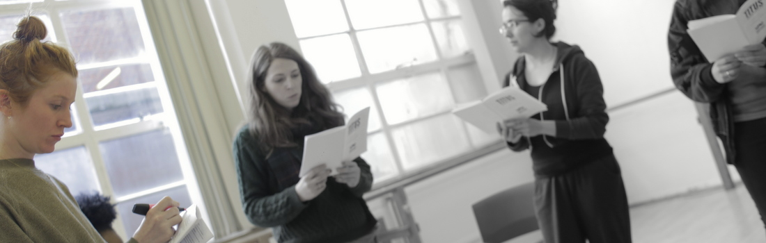 """Titus Rehearsal Blog: """"Room Full of Women"""" by Elly Condron"""